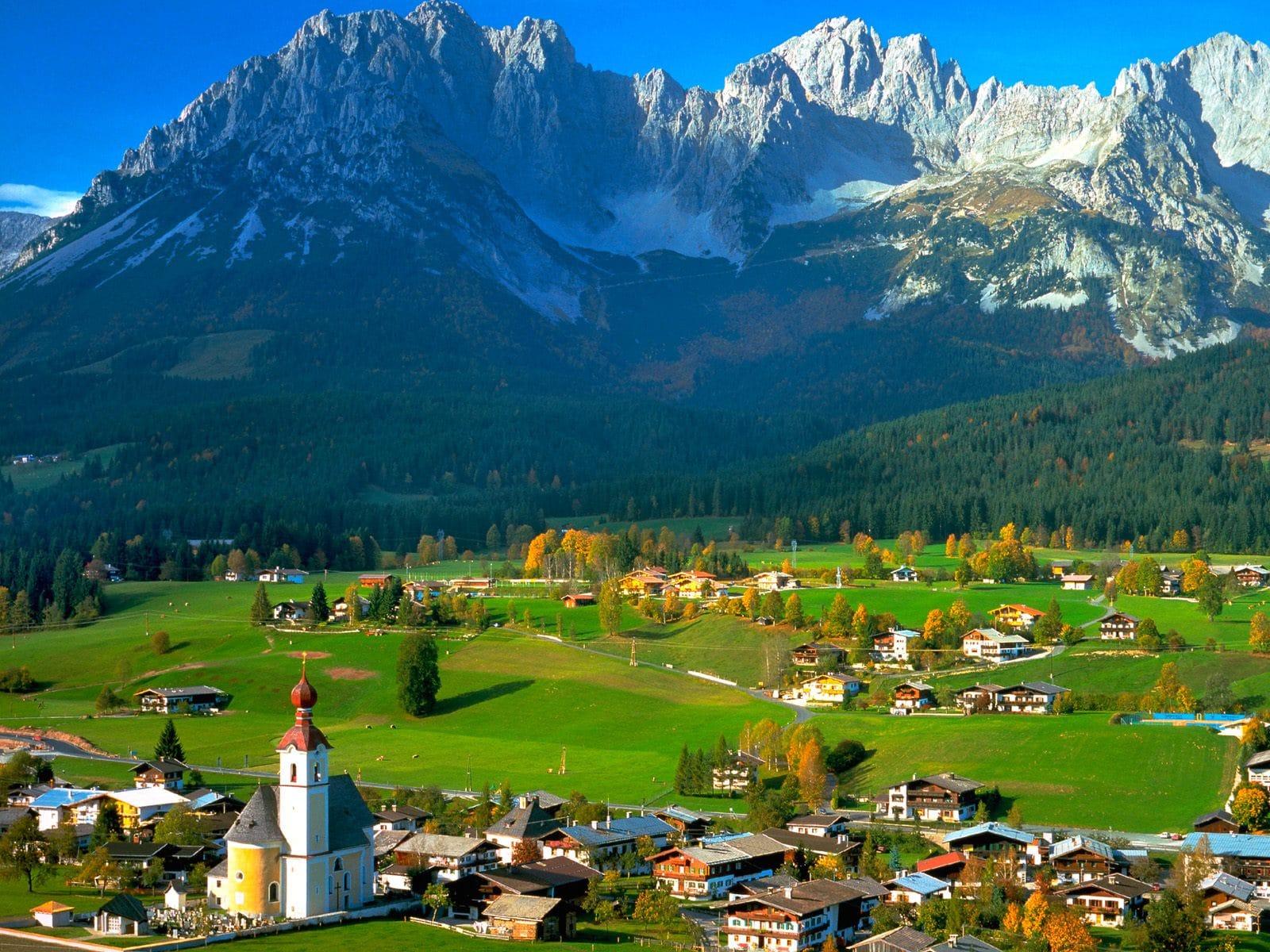 align thoughts austria landscapes