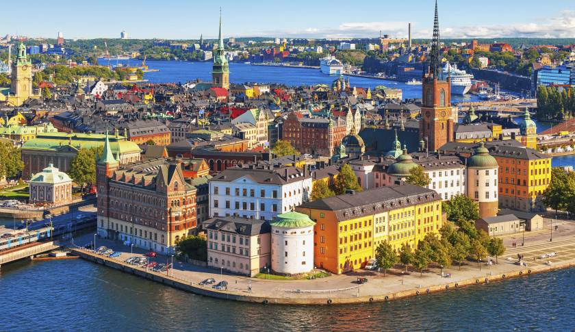 align thoughts - stockholm aerial view