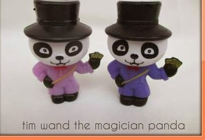 alignthoughts-tim wand magician panda color change from purple to blue