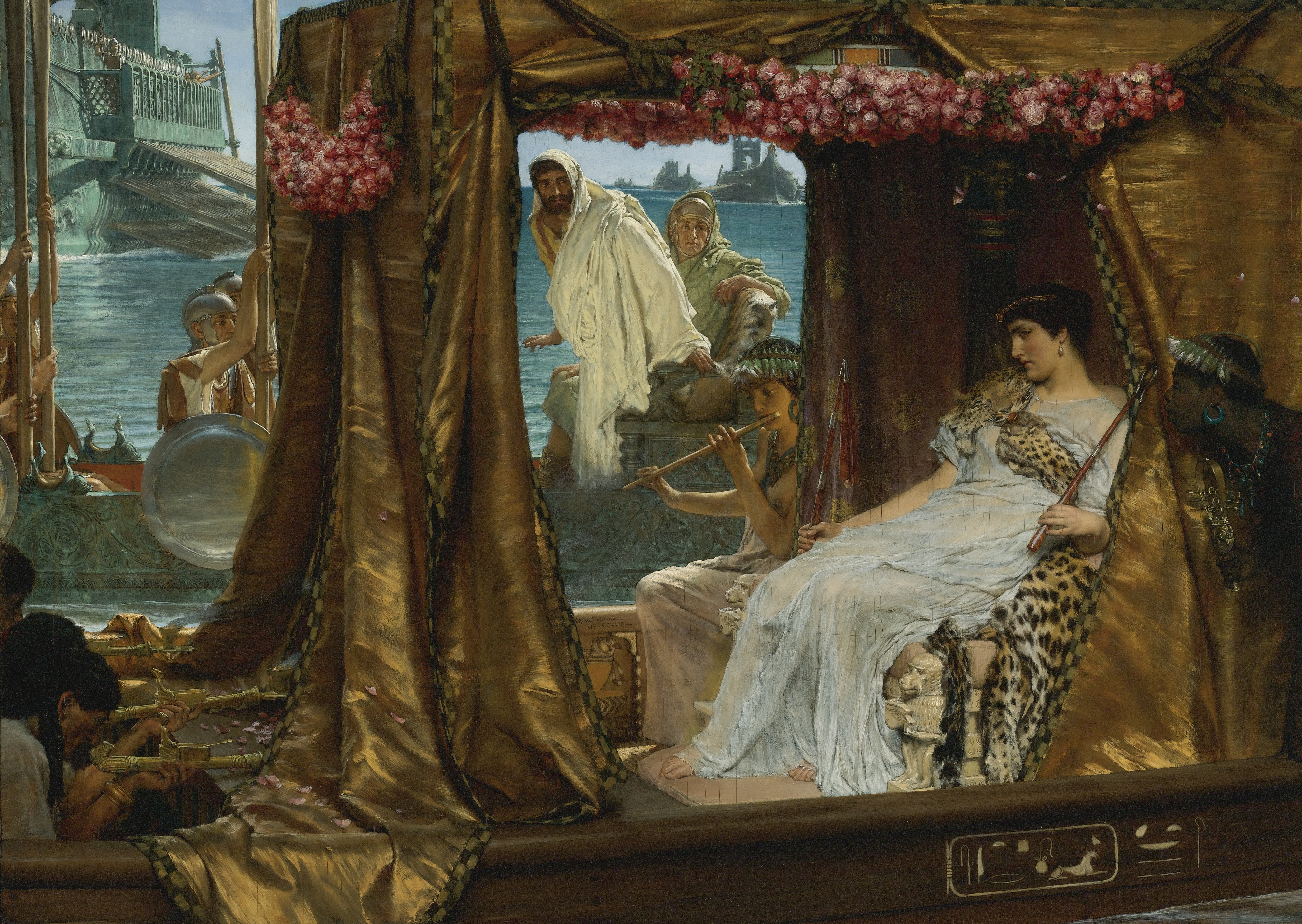 alignthoughts-Sir_Lawrence_Alma-Tadema_-_The_Meeting_of_Antony_and_Cleopatra