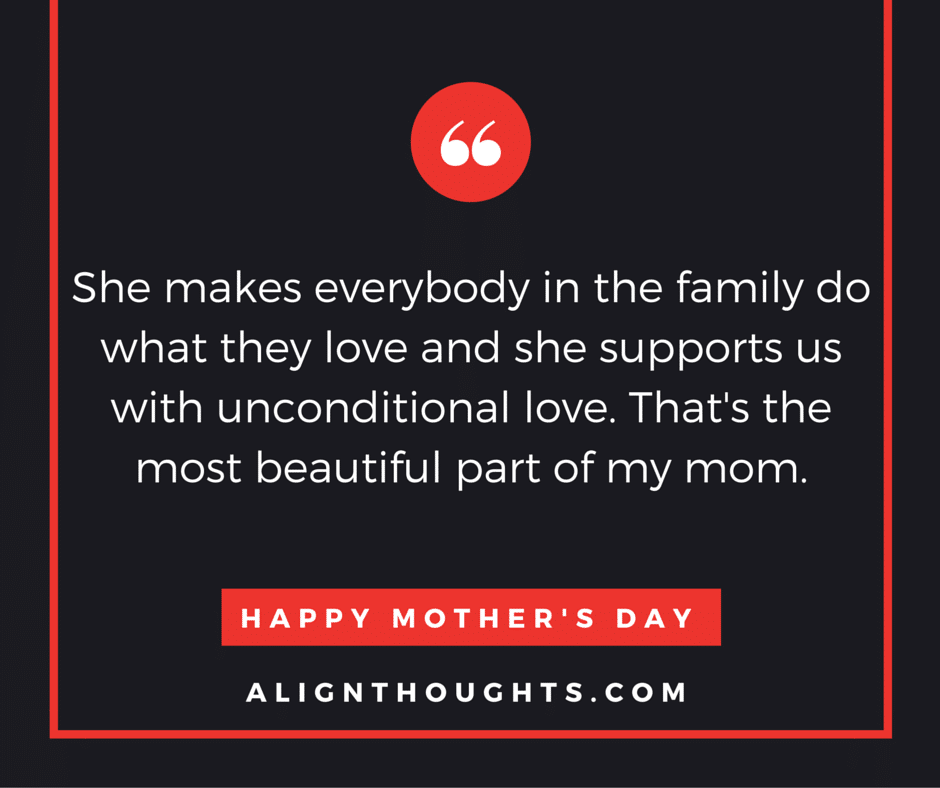 Quotes For Mothers Love Stunning Alignthoughtsmother'sdayquotesmother's Love Is Eternal 12