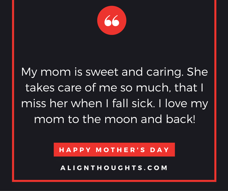 alignthoughts-mother's-day-quotes-Mother's love is eternal
