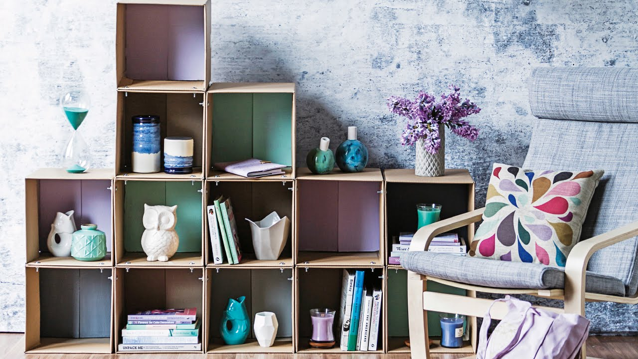cardboard-bookshelf-diy-for-kids