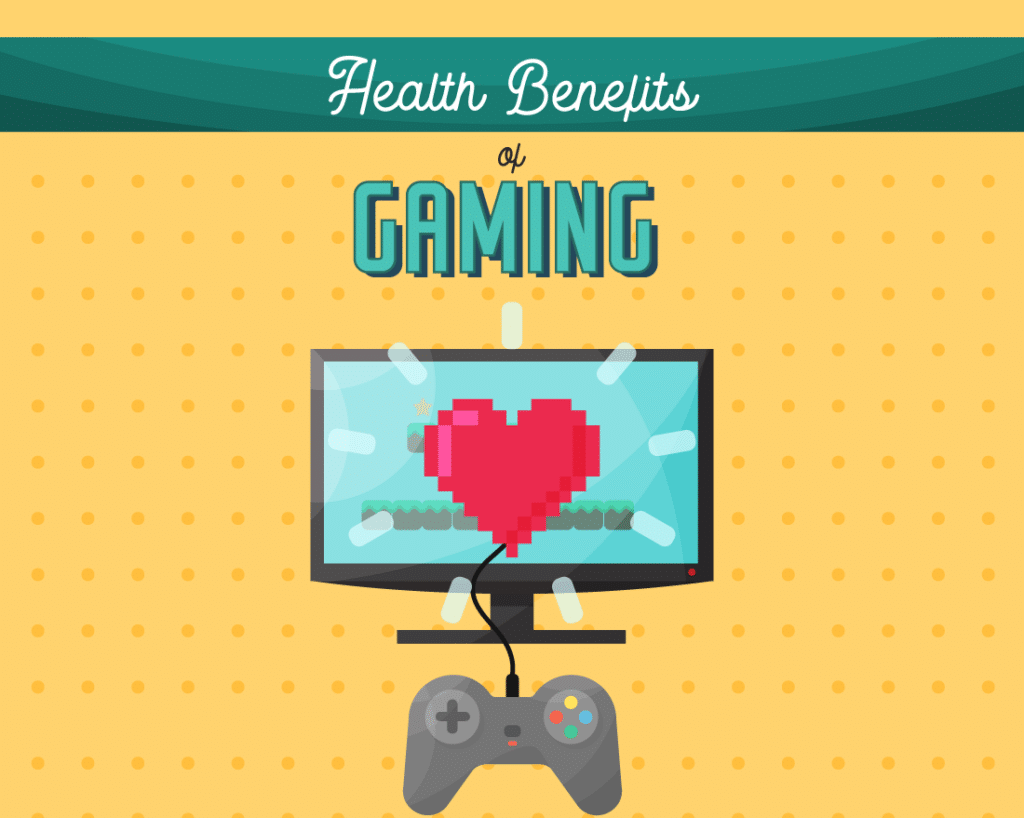 benefits of gaming Benefits of gaming from medical point of view -absorption in a game distracts the mind from pain and discomfort -playing games could help children suffering from attention deficit disorders -playing games could help children suffering from attention deficit disorders.