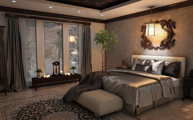 small bedroom interior