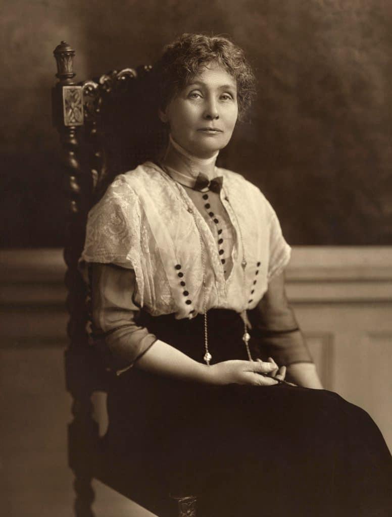 Emmeline_Pankhurst_women activists-female leaders in history