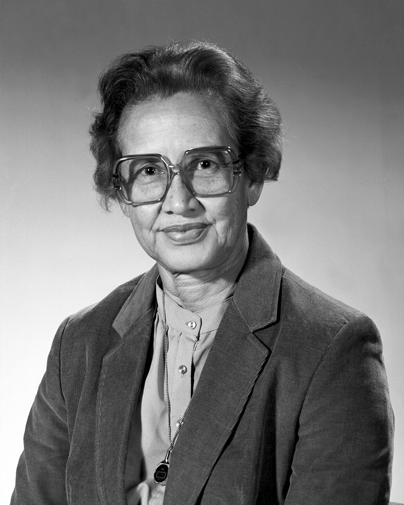 Katherine_Johnson-empowered women in history-women activists-alignthougths