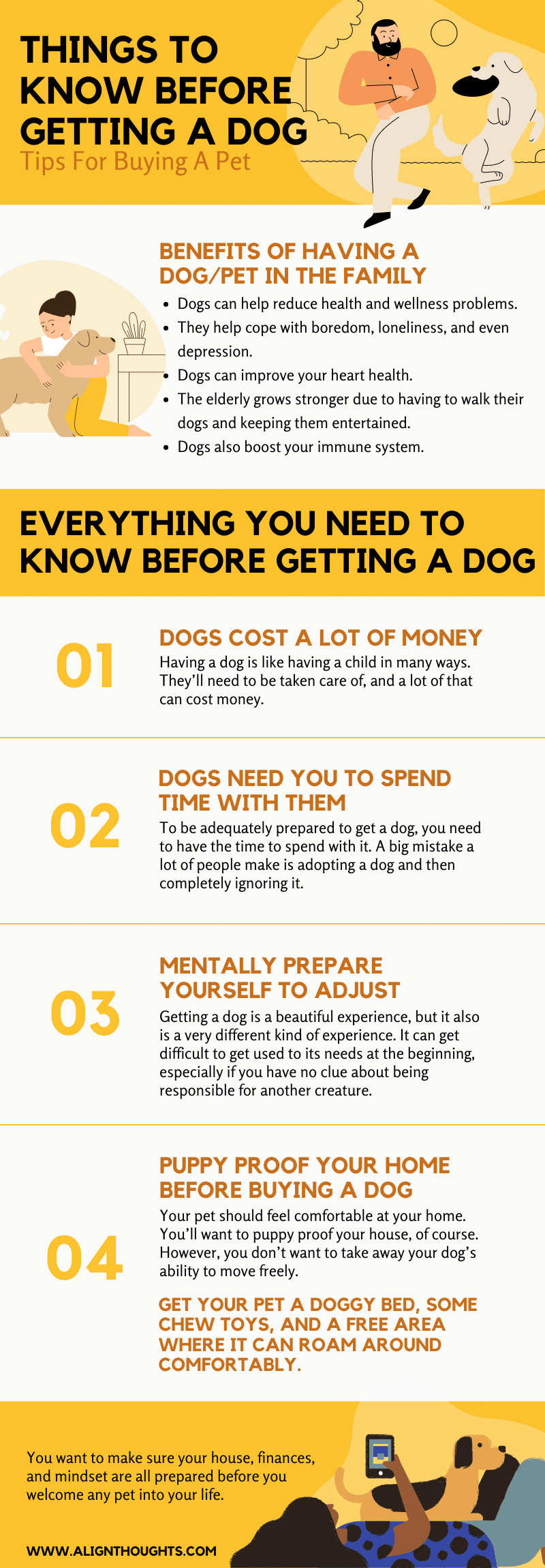 Things To Know Before Getting A Dog – Tips For Buying A Pet-AlignThoughts