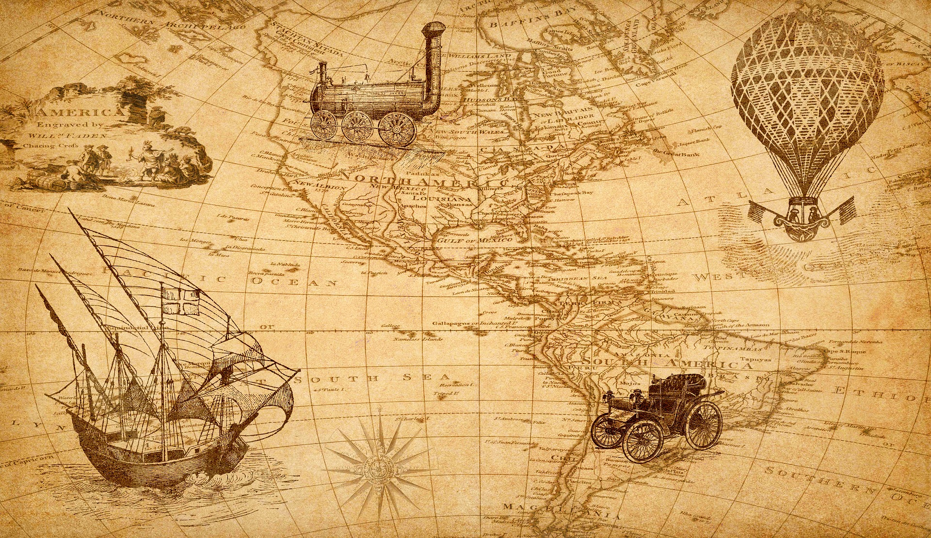 History of the Most Important Expeditions