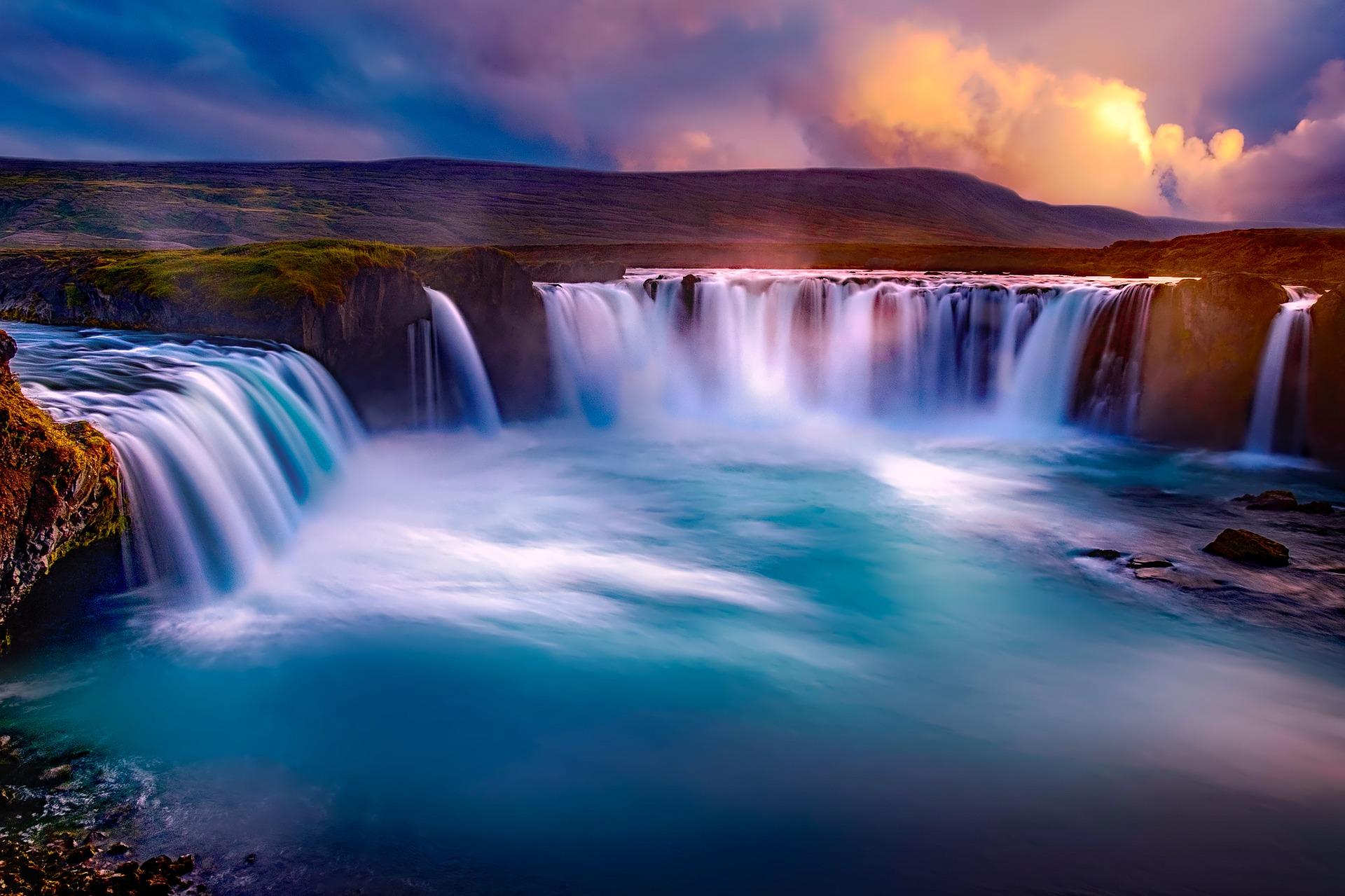 godafoss-waterfall