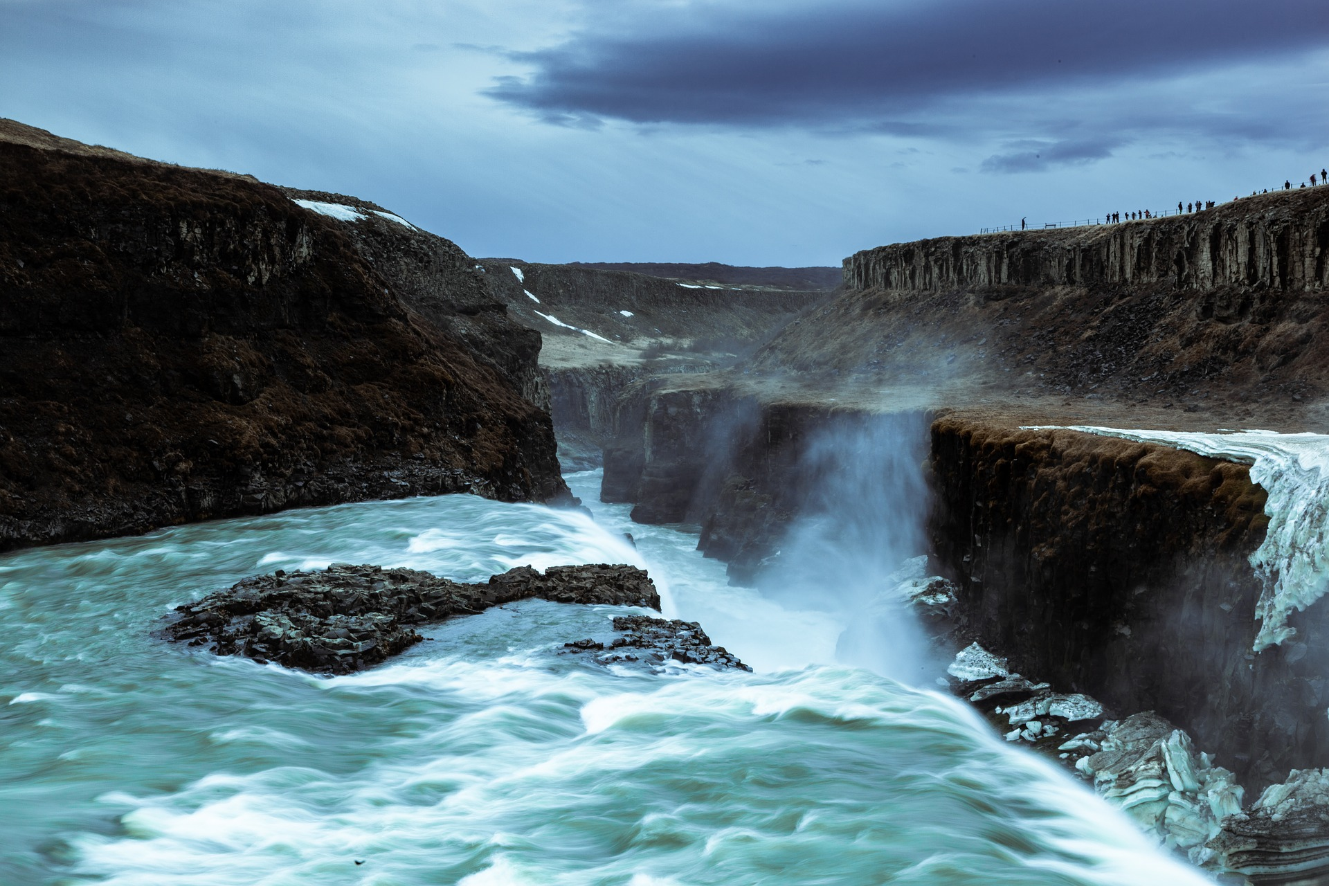 waterfalls-gullfoss