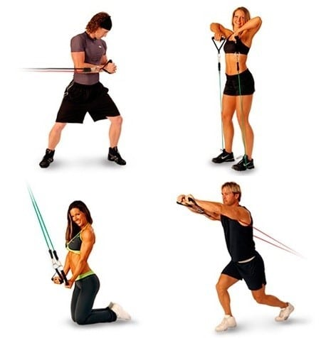 home-exercises-to-lose-weight-resistence-tubes