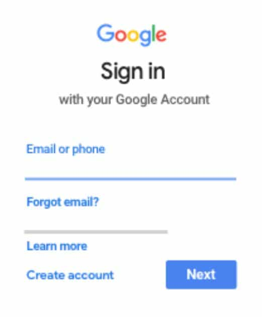 Google classroonm sign in instructions