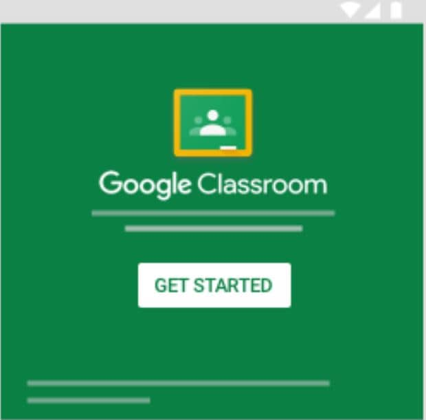 Google classroonm sign in success
