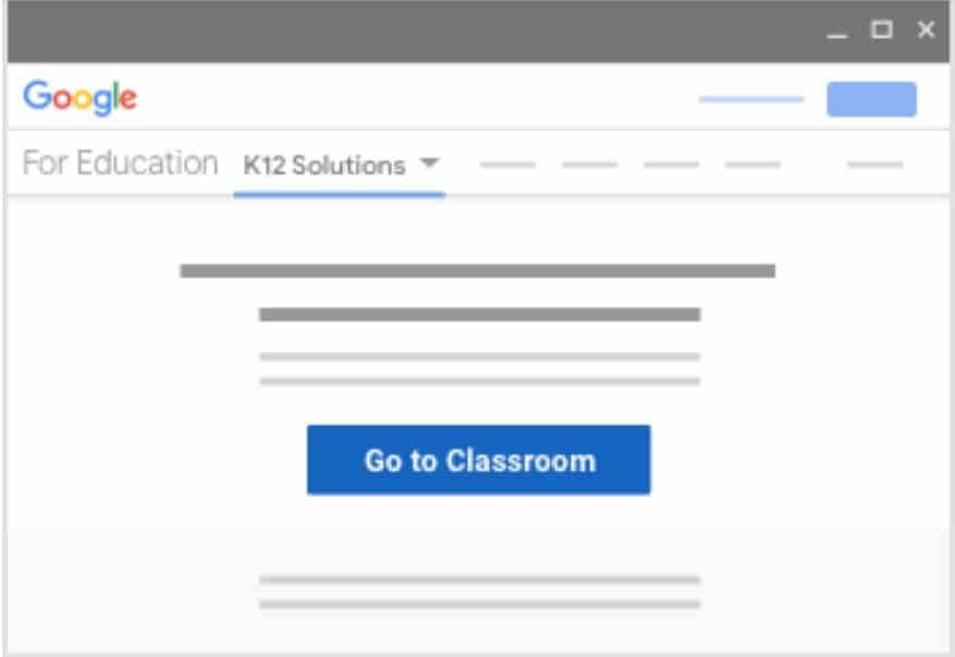Google classroonm sign in