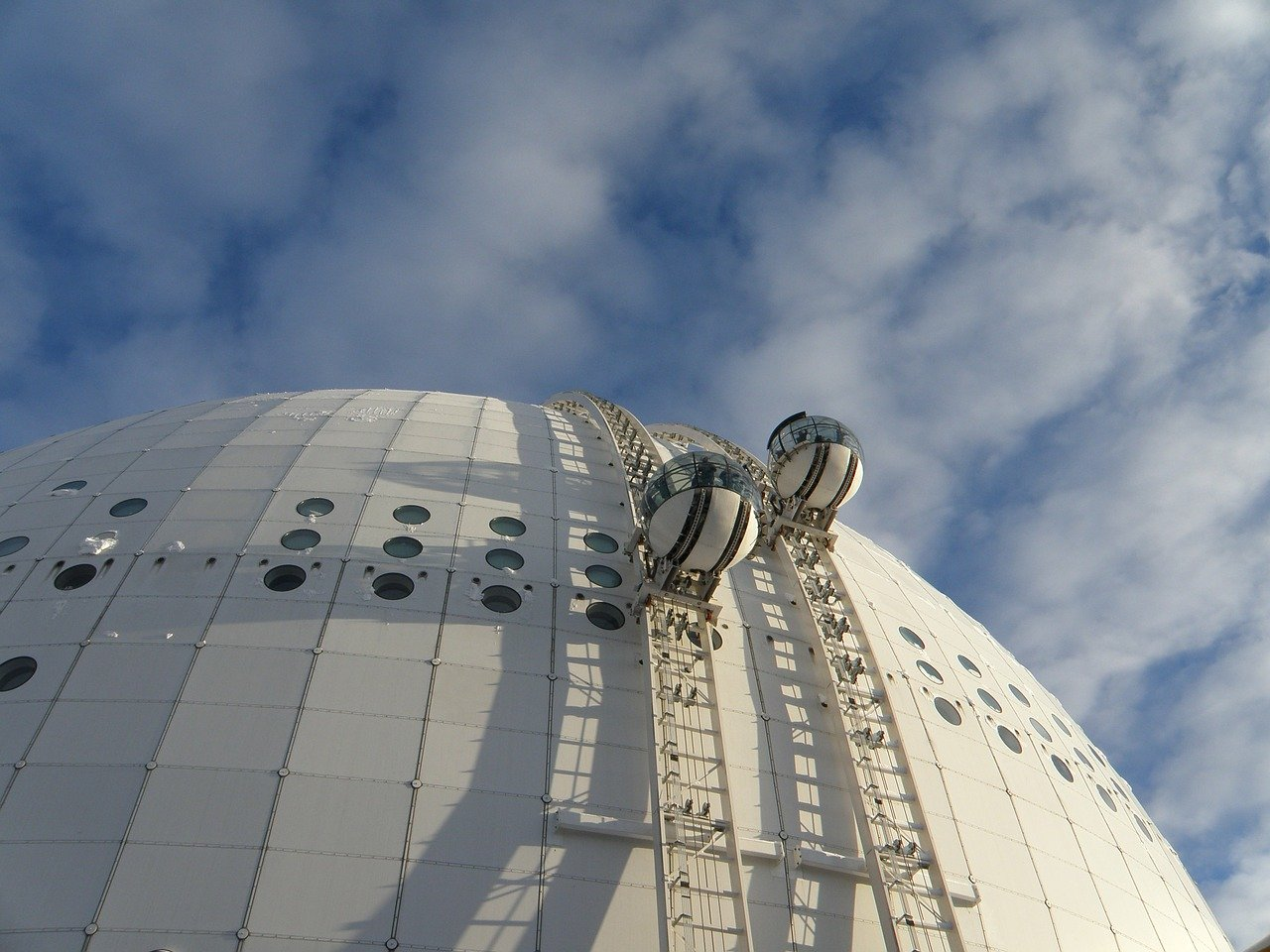 Sweden has the world's largest spherical building, Ericsson Globe-lifestyle in Sweden