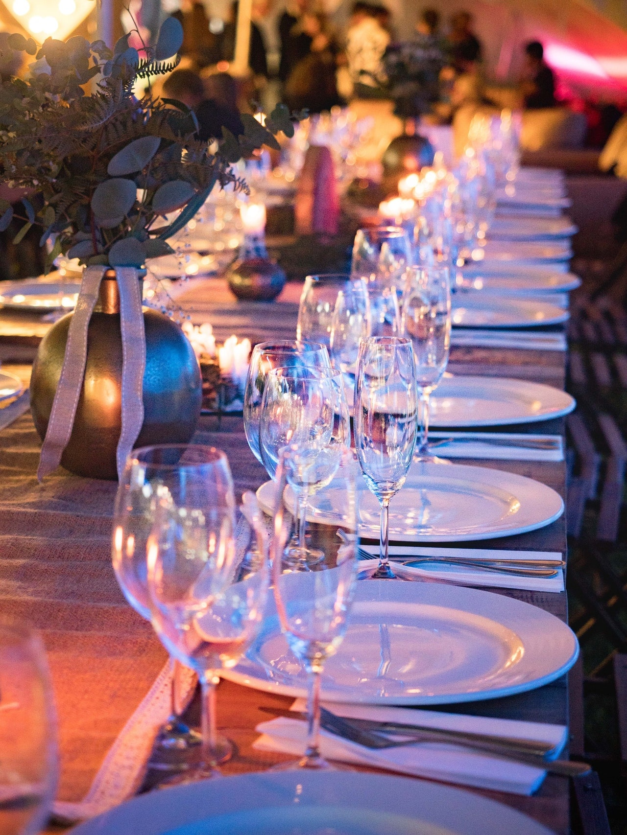 wedding vow renewal ceremony-food and drinks