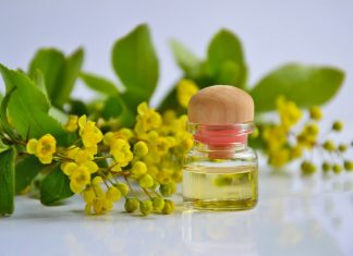 essential oil for flu
