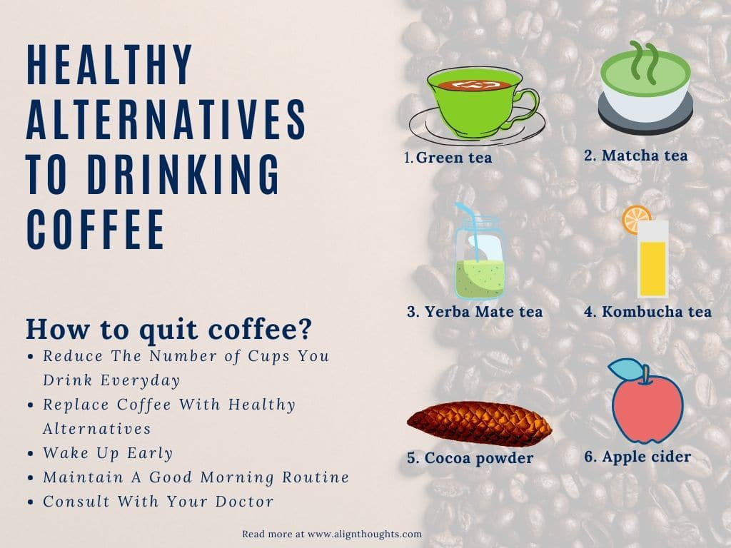 healthy alternatives to drink coffee