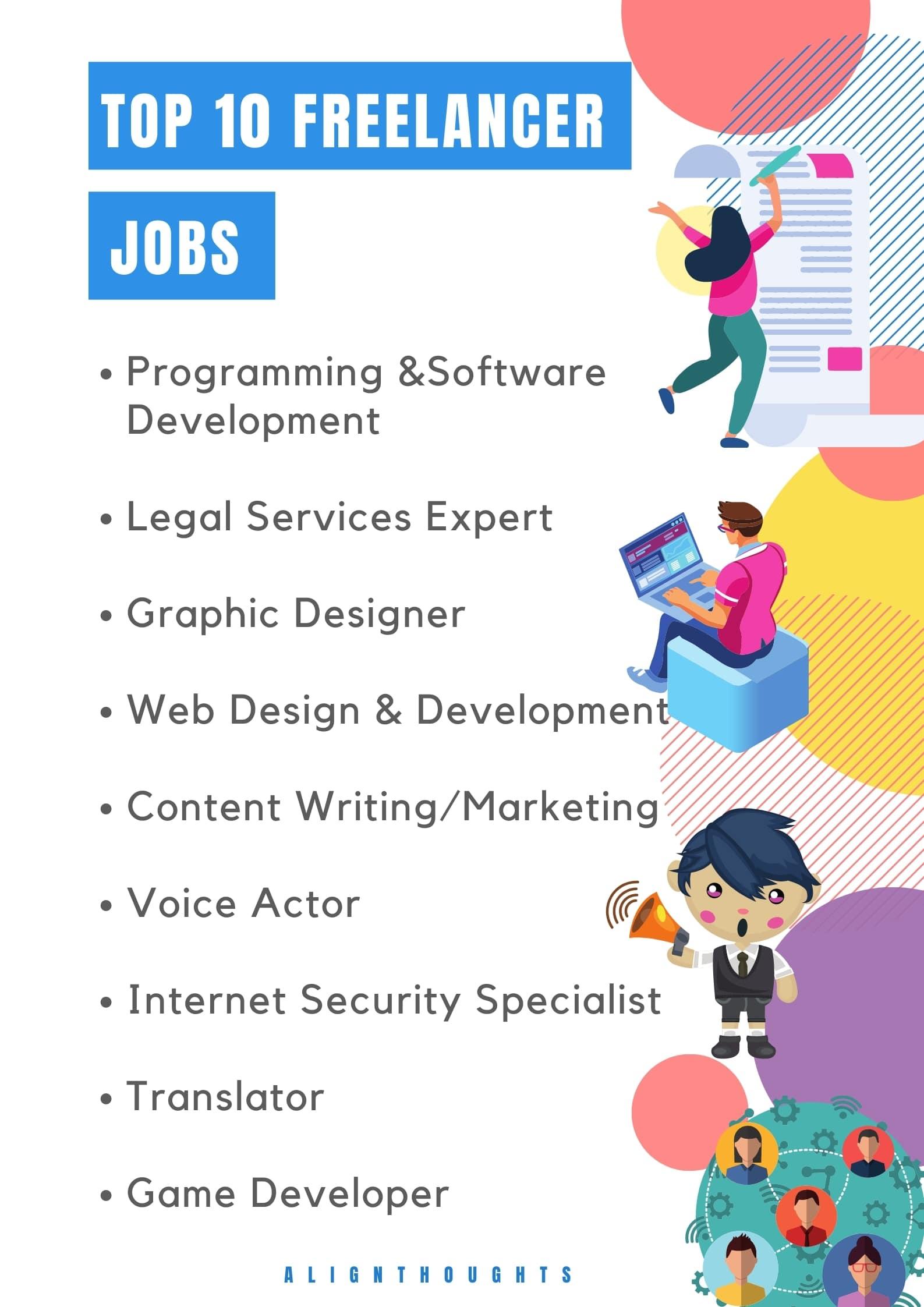 best freelancer jobs-alignthoughts