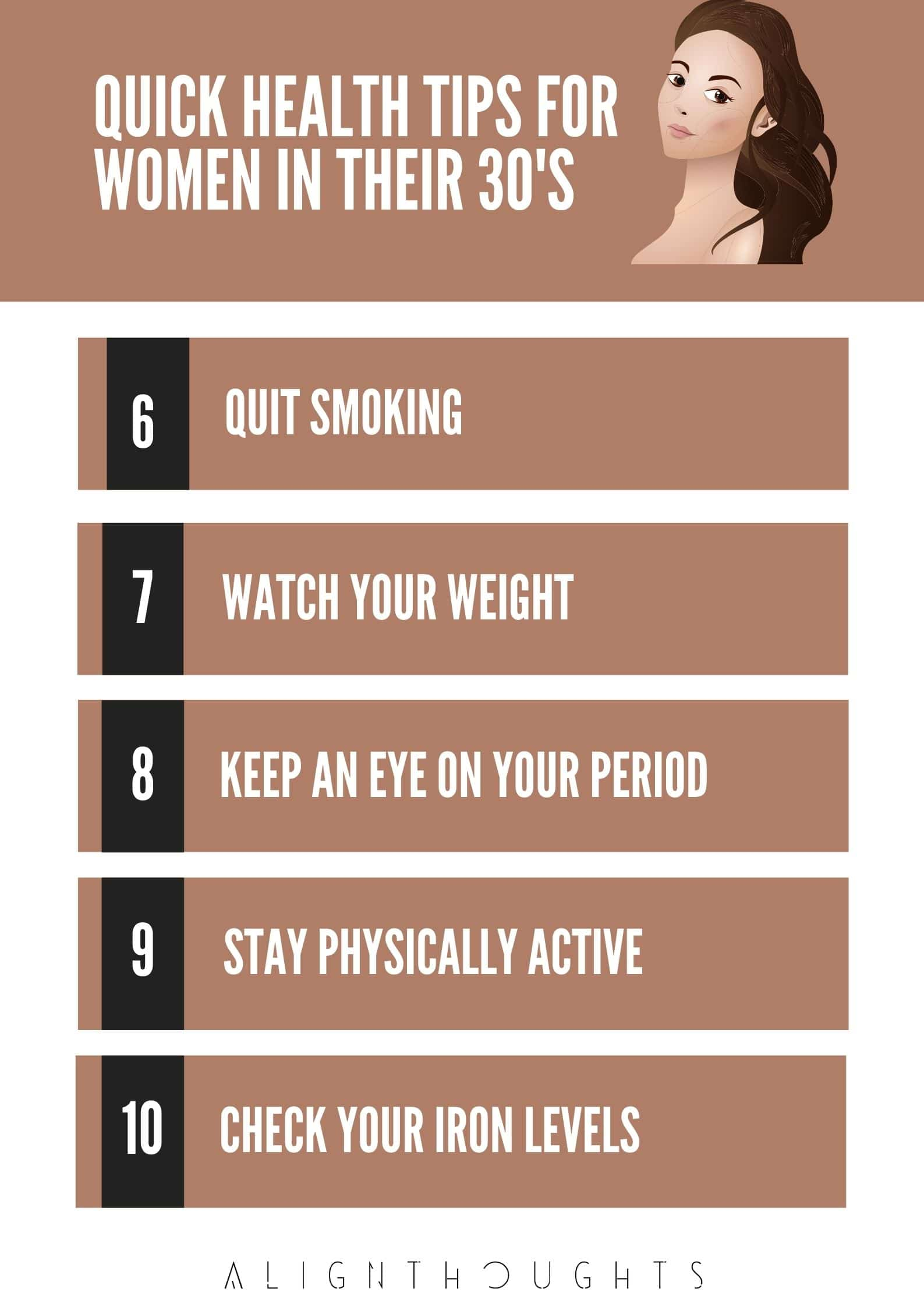 female health issues-tips for women-alignthoughts