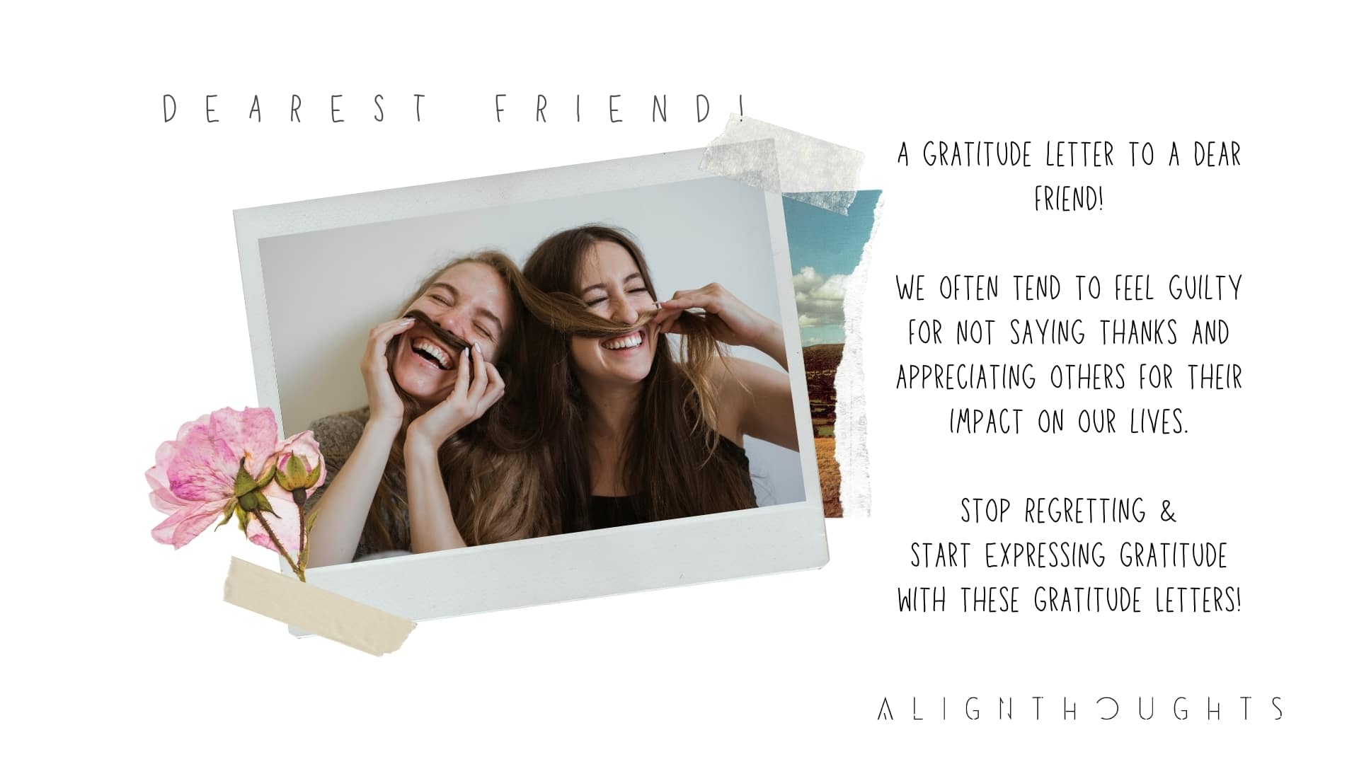 gratitude letter to friend-alignthoughts